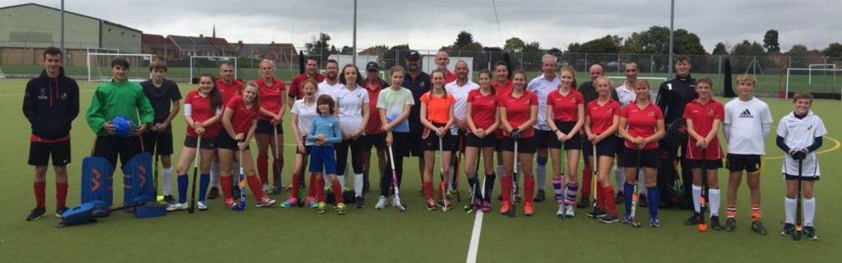 Evesham & Badsey Hockey Club Day