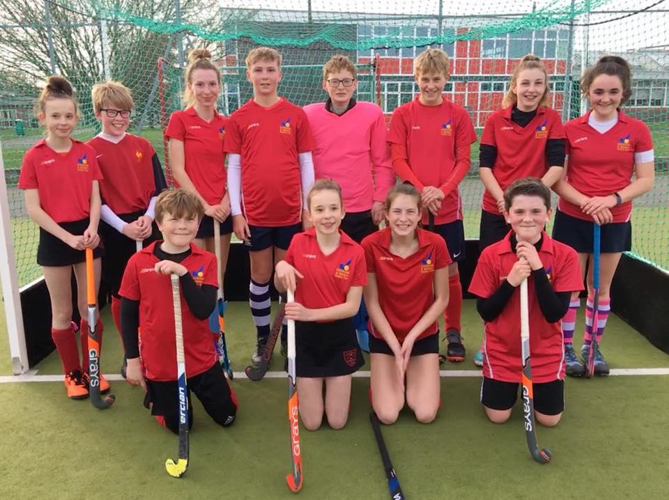 Evesham & Badsey Hockey Badgers Reds